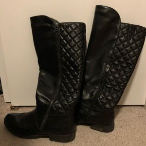 Shoes - Black rider boots